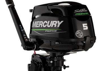 Mercury Propangas 5 hk